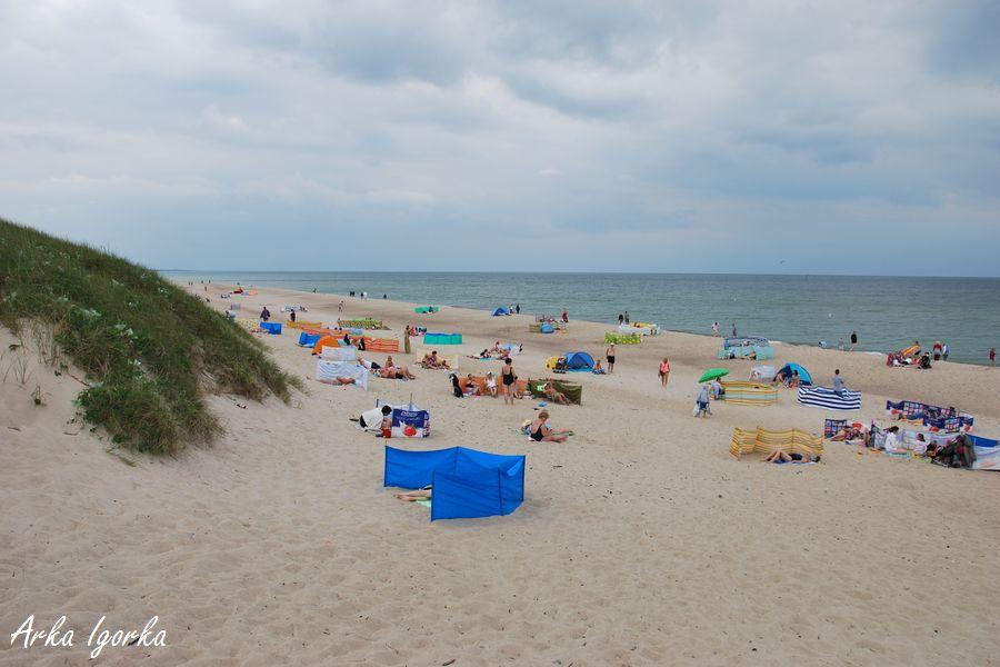 darłówko plaża