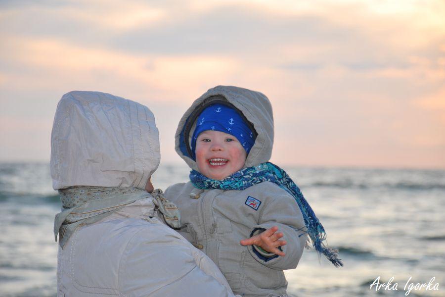 zachód słońca Igor uśmiech